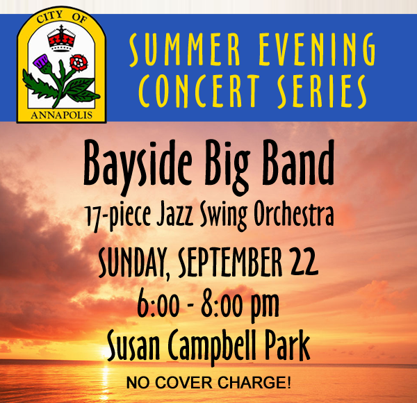 Bayside Big Band Plays Annapolis Summer Concert Series