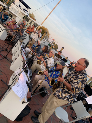 Sax Section Bayside Big Band